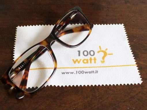 pezzuola pulizia occhiali personalizzata
