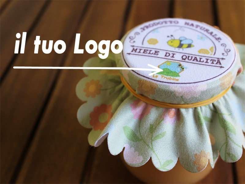 ultimo metà prezzo negozio di sconto Copri vasetti e barattoli in stoffa personalizzati. Produzione Vendita