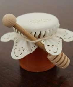 segnaposto bomboniera vasetto miele piccolo