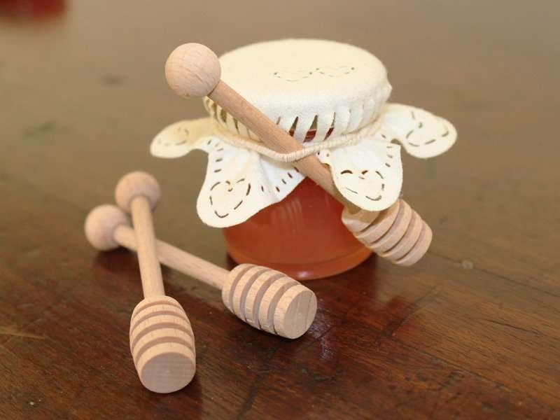 Favoloso Vendita spargimiele in legno. Perfetti per bomboniere e segnaposto JA76