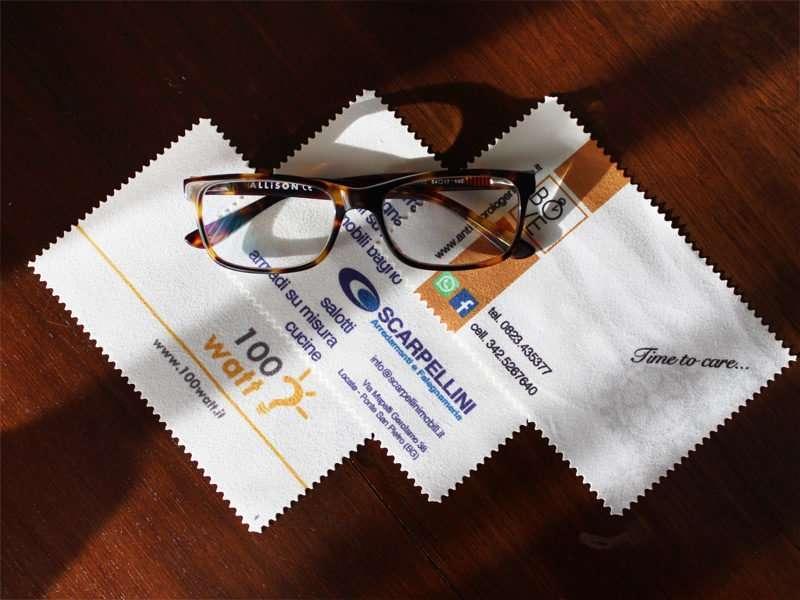 azienda specializzata produzione pezzuole occhiali prezzo