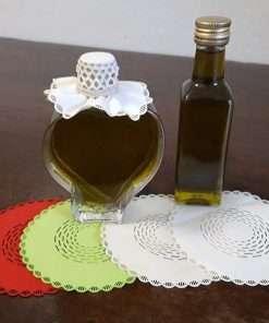 copri tappo stoffa per piccole bottiglie